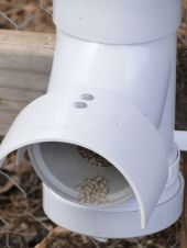 Creative DIY Chicken Feeder from PVC 15
