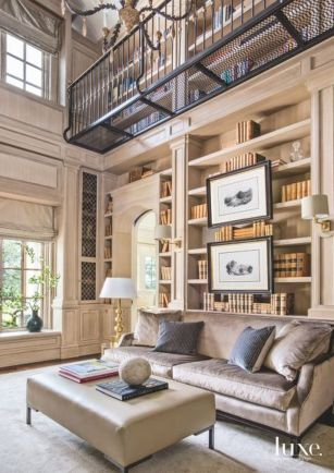 Inspiring Home Library Design and Decorations 14