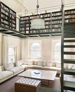 Inspiring Home Library Design and Decorations 20