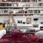 Inspiring Home Library Design and Decorations 22