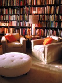 Inspiring Home Library Design and Decorations 35