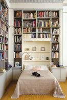 Inspiring Home Library Design and Decorations 38
