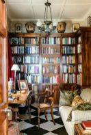 Inspiring Home Library Design and Decorations 39