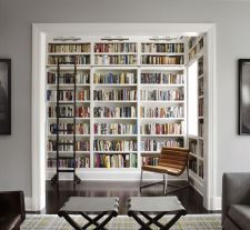 Inspiring Home Library Design and Decorations 49