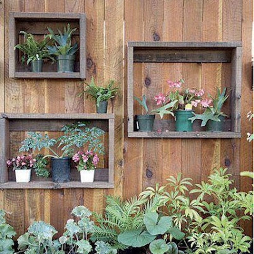 Beautiful Vertical Garden Ideas: Simple DIY Vertical Garden Ideas 33