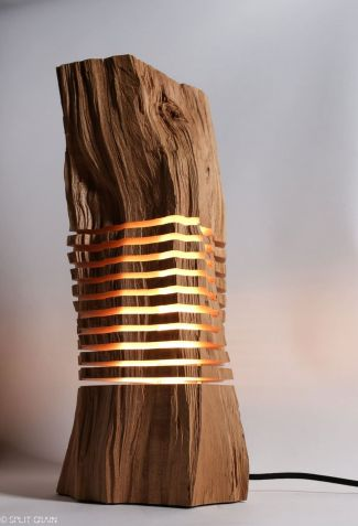 Amazing Wood Lamp Sculpture for Home Decoratios 31