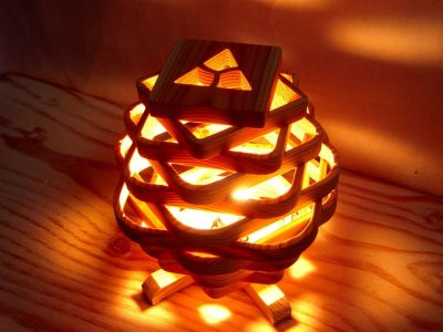 Amazing Wood Lamp Sculpture for Home Decoratios 45