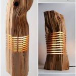 Amazing Wood Lamp Sculpture for Home Decoratios 46