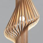 Amazing Wood Lamp Sculpture for Home Decoratios 7