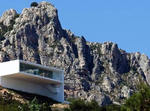 Cliff House Architecture Design and Concept