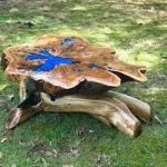 Awesome Resin Wood Table Project 15