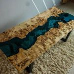 Awesome Resin Wood Table Project 16