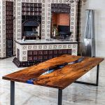 Awesome Resin Wood Table Project 36