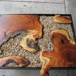 Awesome Resin Wood Table Project 40