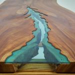 Awesome Resin Wood Table Project 45