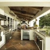 Awesome Yard and Outdoor Kitchen Design Ideas 17