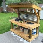 Awesome Yard and Outdoor Kitchen Design Ideas 40
