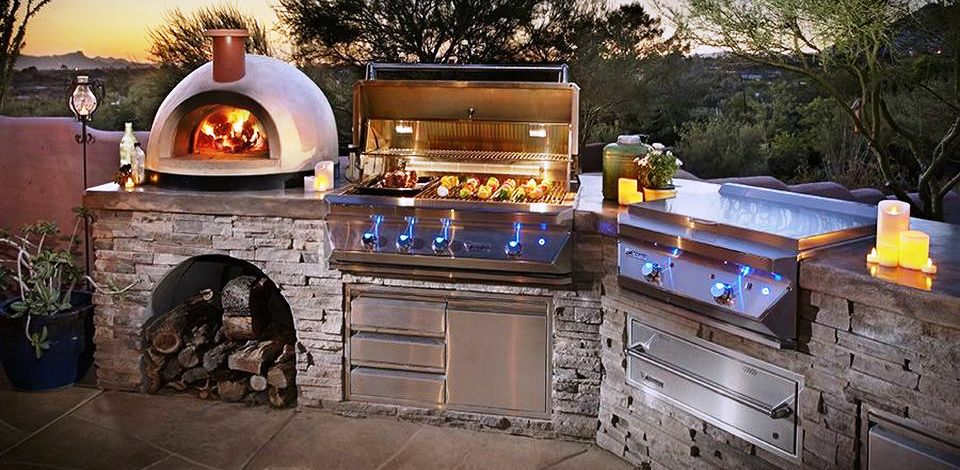 Outdoor Kitchen Design Ideas & 50 Awesome Yard and Outdoor Kitchen Design Ideas - Hoommy.com