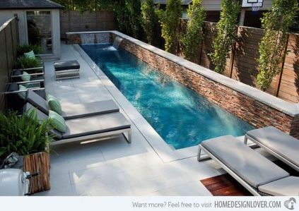 Awesome Small Pool Design for Home Backyard 24