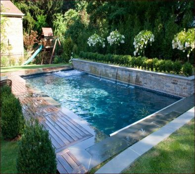 Awesome Small Pool Design for Home Backyard 39