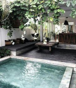 Awesome Small Pool Design for Home Backyard 64