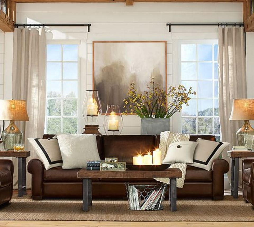 Awesome Living Room Designs: Awesome Tall Curtains Ideas For Living Room 10