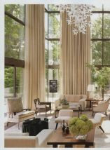 Awesome Tall Curtains Ideas for Living Room 11