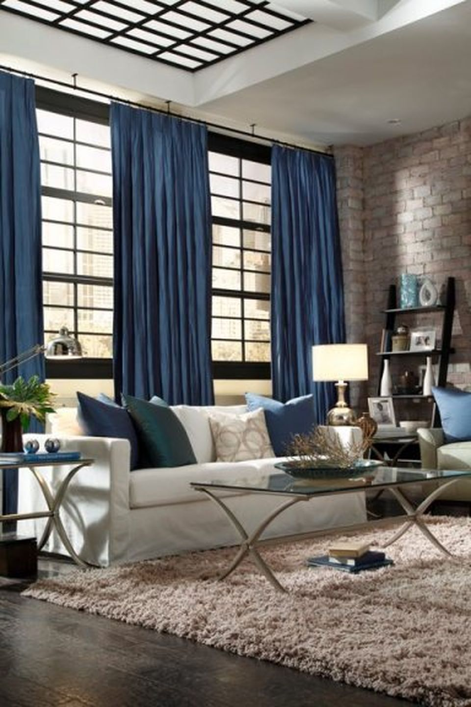 Awesome Tall Curtains Ideas for Living Room 59