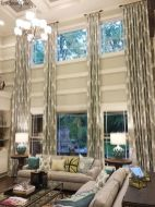 Awesome Tall Curtains Ideas for Living Room 35