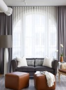 Awesome Tall Curtains Ideas for Living Room 39