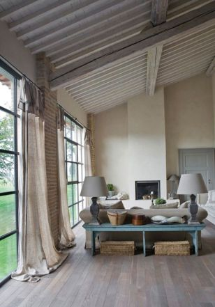 Awesome Tall Curtains Ideas for Living Room 44