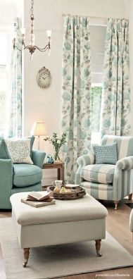 Awesome Tall Curtains Ideas for Living Room 9