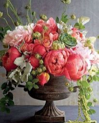 100 Beauty Spring Flowers Arrangements Centerpieces Ideas 24