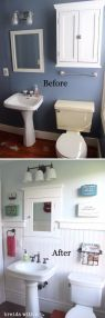 70 Brilliant Ideas for Small Bathroom Hacks and Organization 19