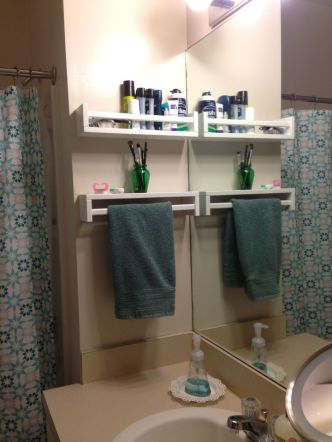 70 Brilliant Ideas for Small Bathroom Hacks and Organization 30