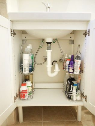 70 Brilliant Ideas for Small Bathroom Hacks and Organization 43