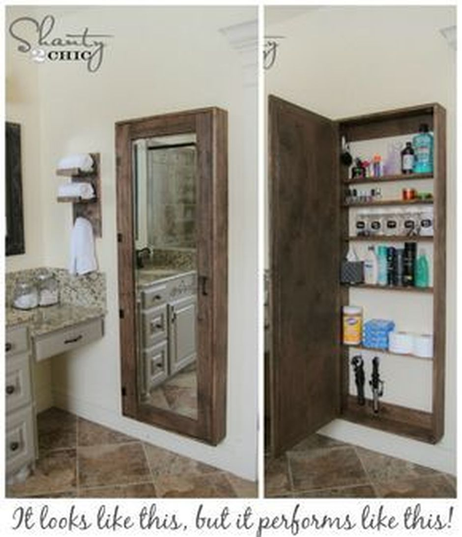 70 Brilliant Ideas for Small Bathroom Hacks and Organization 4
