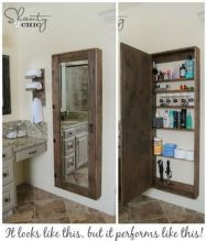 70 Brilliant Ideas for Small Bathroom Hacks and Organization 51