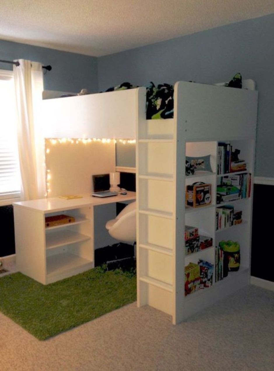 Awesome Cool Loft Bed Design Ideas and Inspirations 13 ... on Awesome Ideas  id=32390