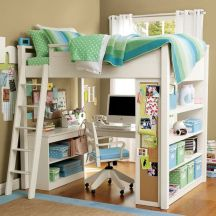 Awesome Cool Loft Bed Design Ideas and Inspirations 20