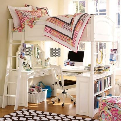 Awesome Cool Loft Bed Design Ideas and Inspirations 22