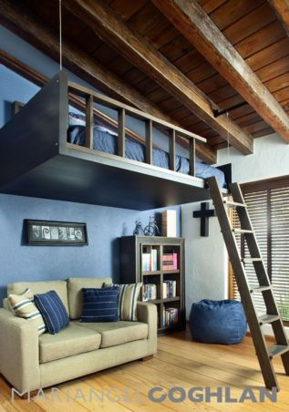 Awesome Cool Loft Bed Design Ideas and Inspirations 38