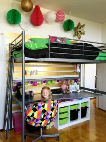 Awesome Cool Loft Bed Design Ideas and Inspirations 41
