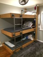 Awesome Cool Loft Bed Design Ideas and Inspirations 47