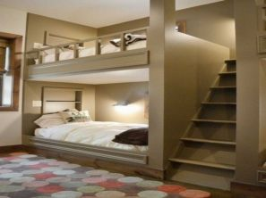 Awesome Cool Loft Bed Design Ideas and Inspirations 51