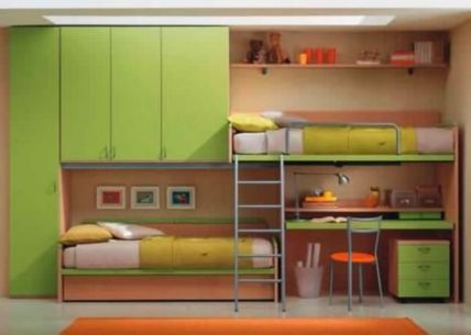 Awesome Cool Loft Bed Design Ideas and Inspirations 53