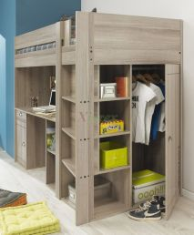 Awesome Cool Loft Bed Design Ideas and Inspirations 55