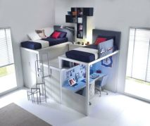 Awesome Cool Loft Bed Design Ideas and Inspirations 6