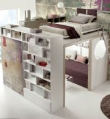 Awesome Cool Loft Bed Design Ideas and Inspirations 65