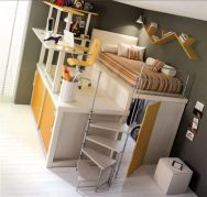 Awesome Cool Loft Bed Design Ideas and Inspirations 70